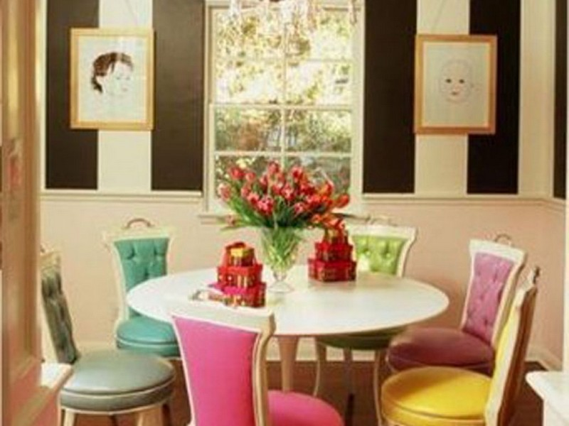 Colored Dining Chairs