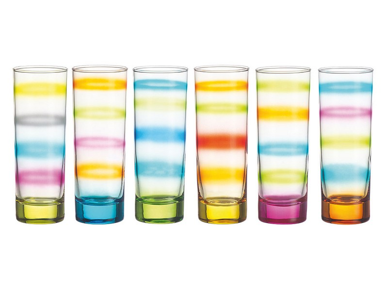 Colored Drinking Glasses Sets
