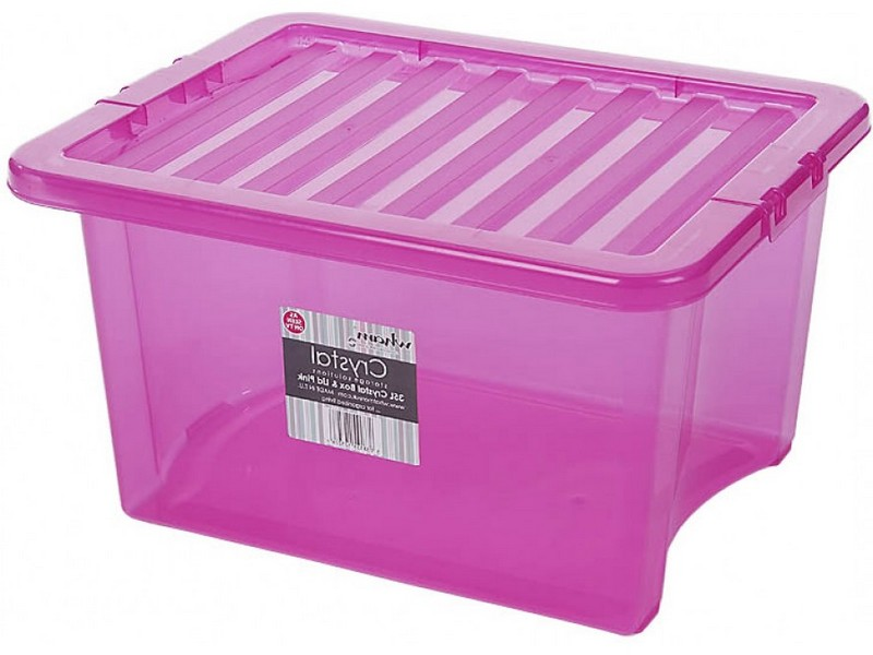 Colorful Storage Boxes With Lids
