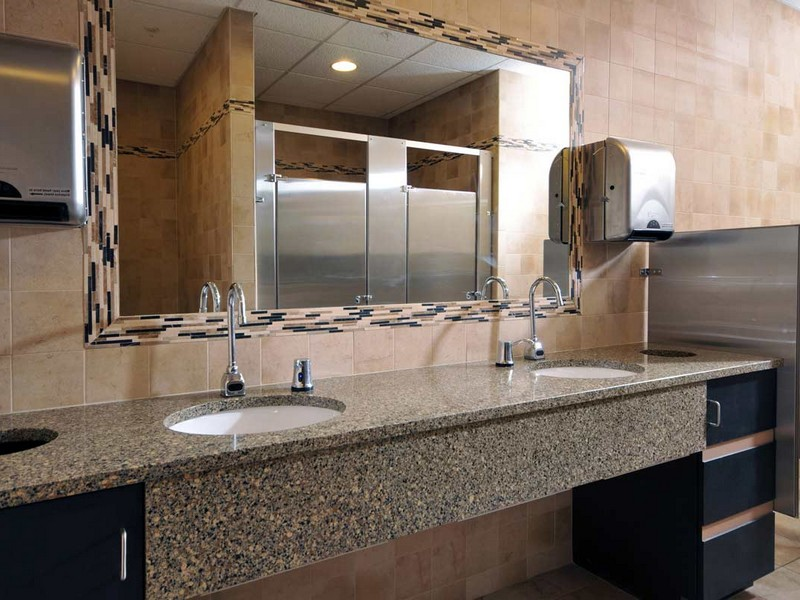 Commercial Bathroom Sinks And Counters