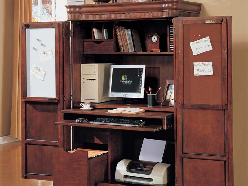 Computer Cabinet Armoire