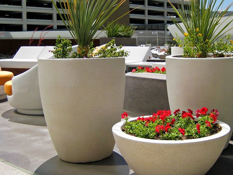 Concrete Planter Boxes Brisbane