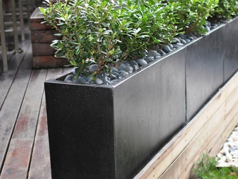 Concrete Planter Boxes Perth
