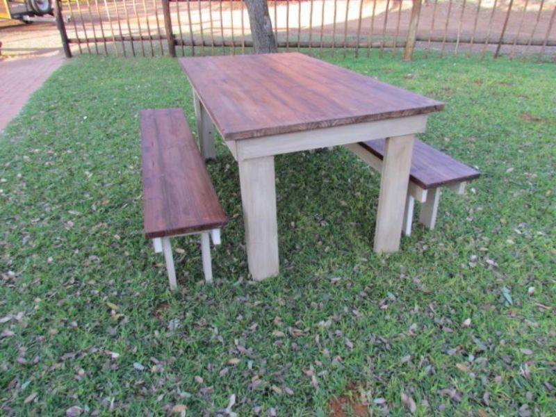 Concrete Tables And Benches Pretoria