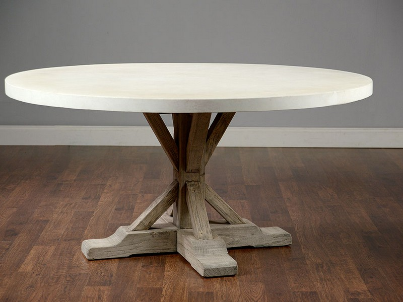 Concrete Top Dining Table Round