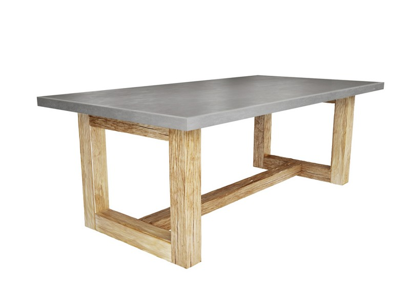 Concrete Top Dining Tables