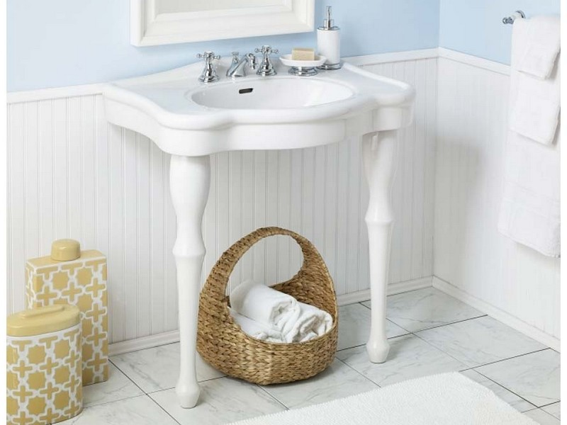 Console Sinks For Small Bathrooms