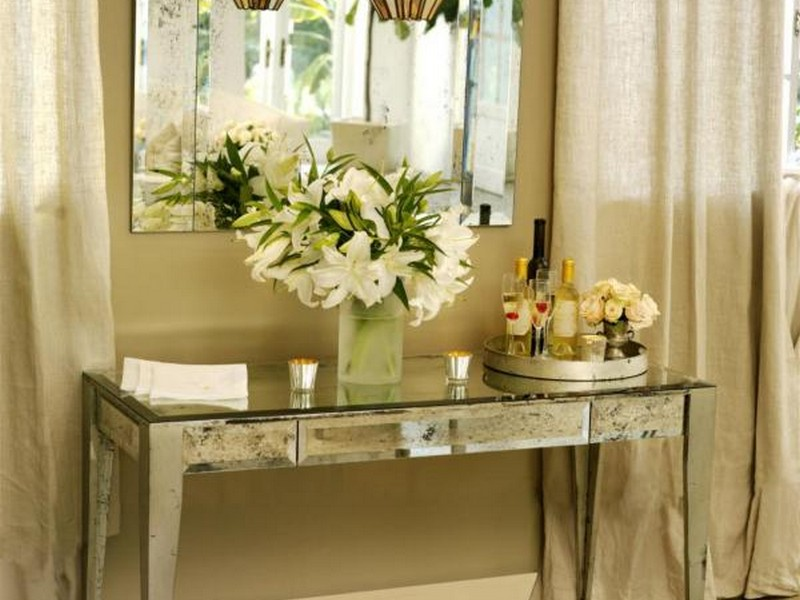 Console Table And Mirror Set Canada