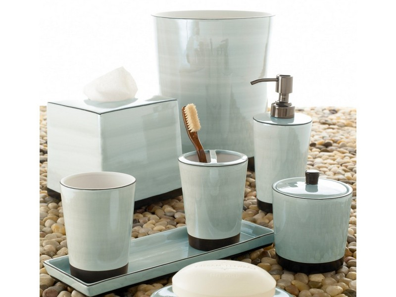 Contemporary Bathroom Accessory Sets