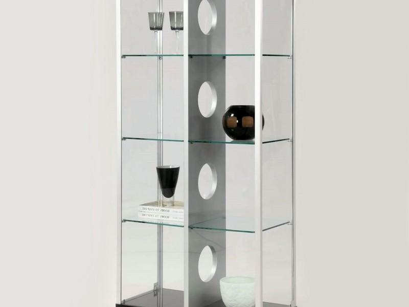 Contemporary Curio Cabinets Glass