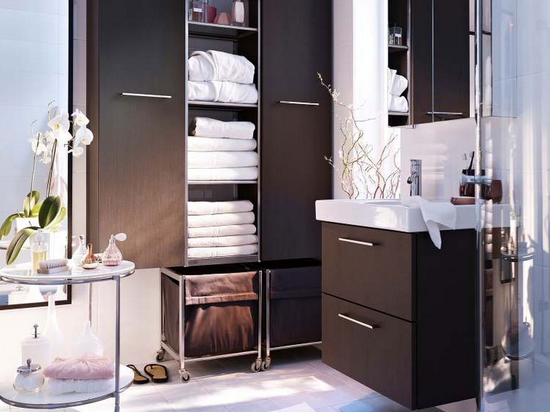 Contemporary Ikea Bathrooms