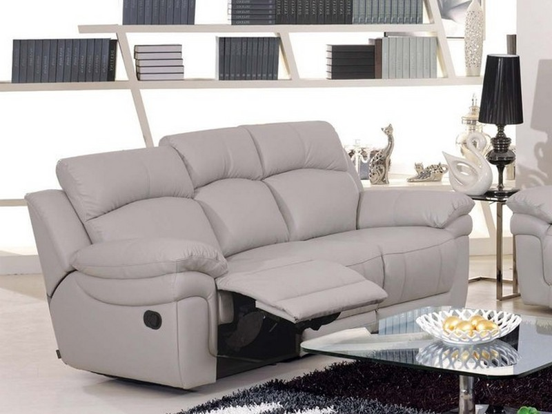 Contemporary Reclining Sofa