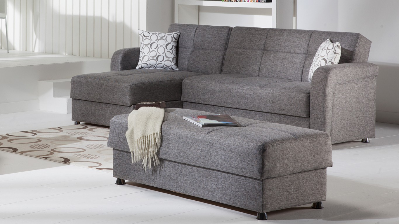 Contemporary Sectional Sleeper Sofa