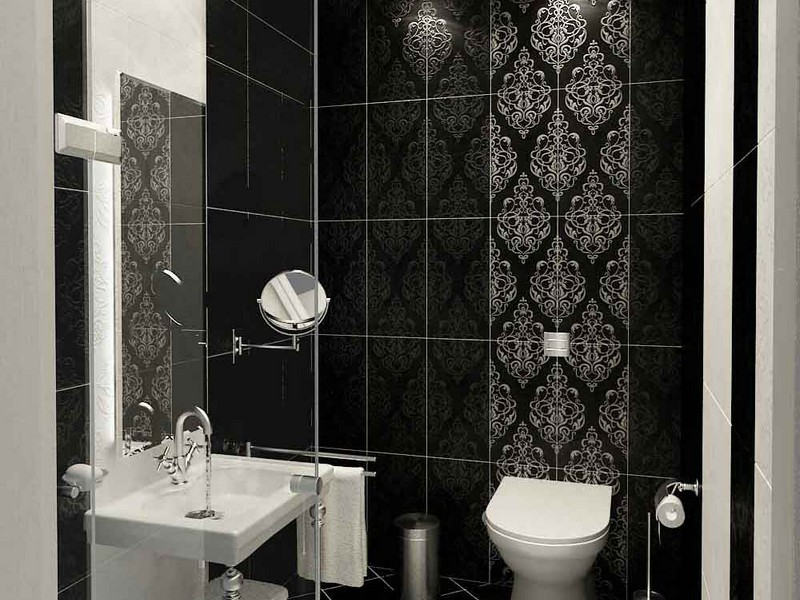 Contemporary Tile Designs For Bathrooms