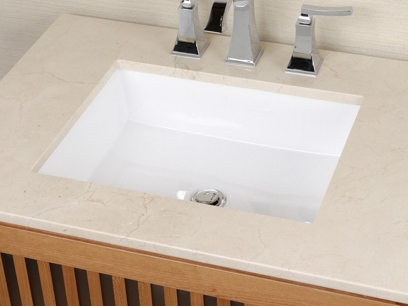 Contemporary Undermount Bathroom Sinks