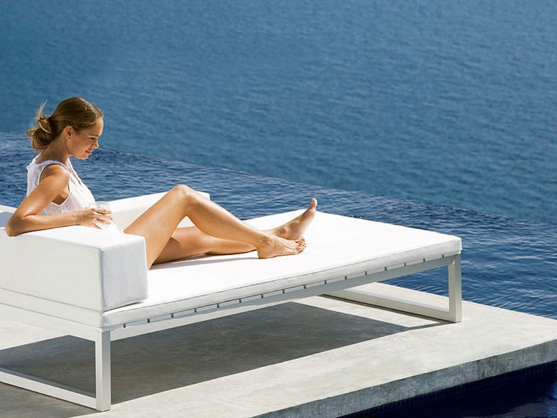 Convertible Chaise Lounge Outdoor