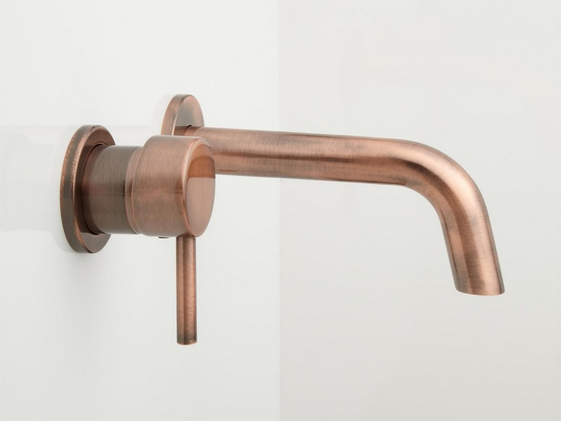 Copper Bathroom Faucets Wall Mount