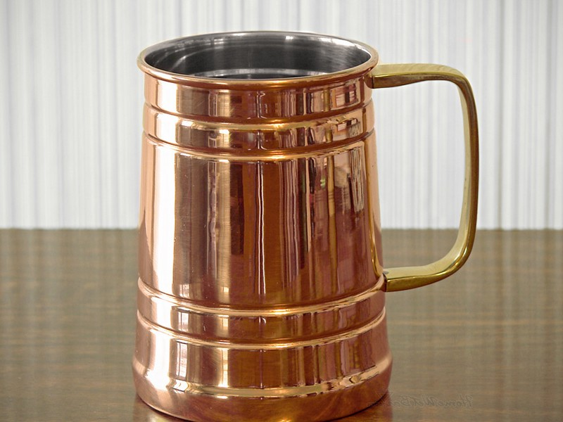 Copper Drinking Mugs