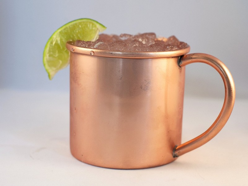 Copper Moscow Mule Cups