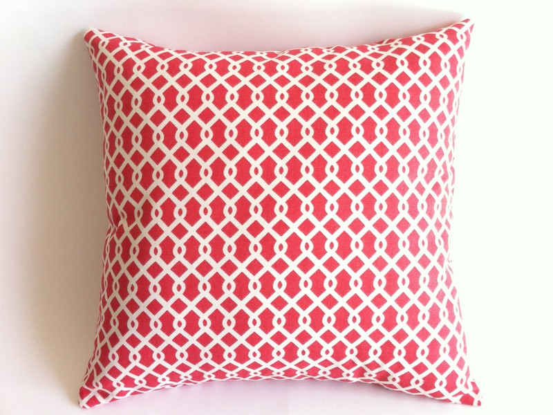 Coral Accent Pillows