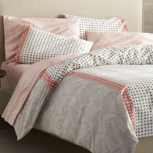 Coral Bed Sheets