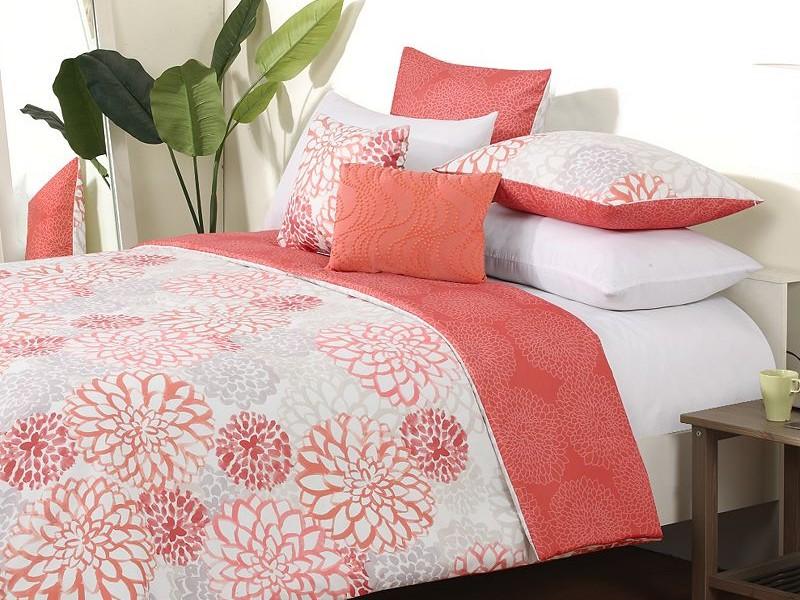 Coral Bed Sheets King