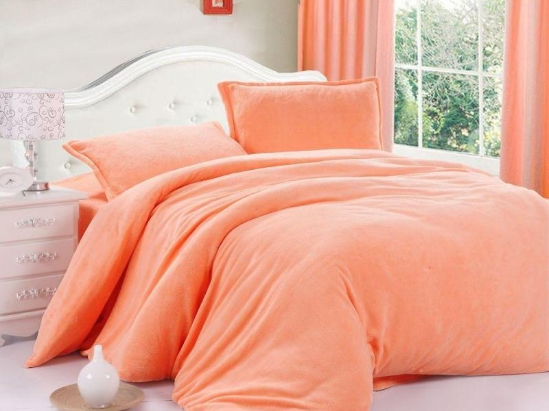 Coral Colored Sheets Queen