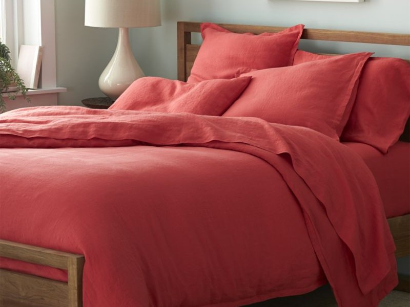 Coral Colored Sheets