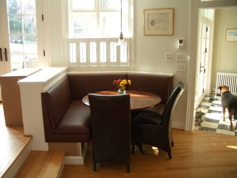 Corner Banquette Bench