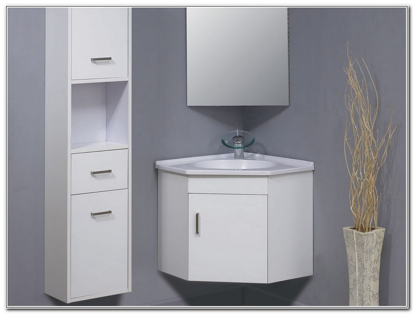Corner Bathroom Cabinet Wall Mounted