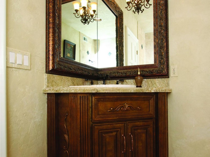 Corner Bathroom Vanity Mirror