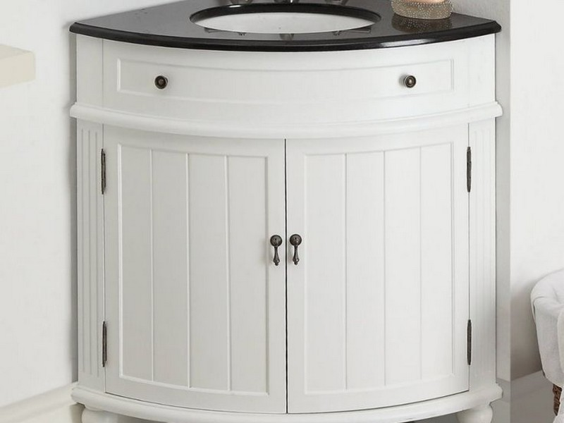 Corner Bathroom Vanity With Drawers