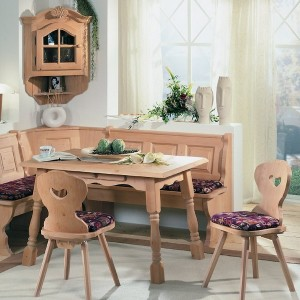 Corner Booth Dining Set Table Kitchen