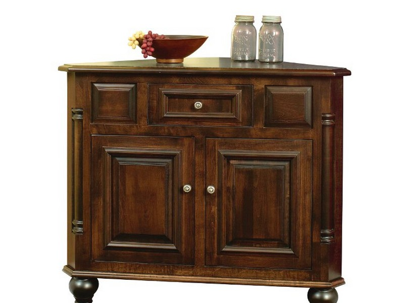 Corner Buffet Cabinet