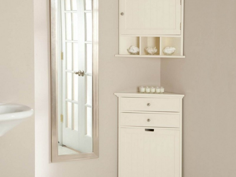 Corner Cabinet Bathroom Storage