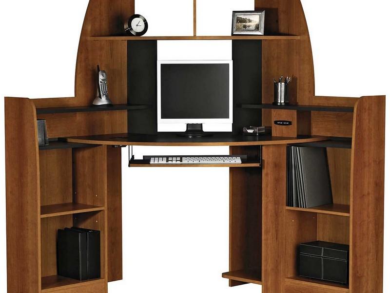 Corner Computer Desk With Storage