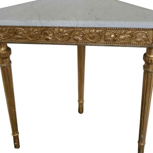 Corner Console Table