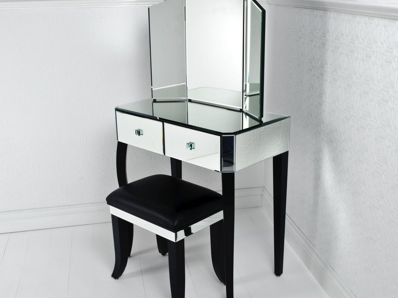 Corner Dressing Table Small