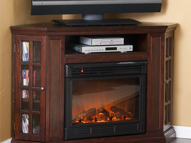 Corner Electric Fireplace With Tv Stand