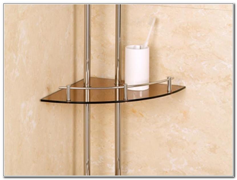 Corner Shelves For Bathroom Counter