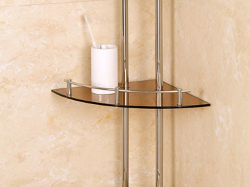 Corner Shelves For Bathroom Wall Mounted