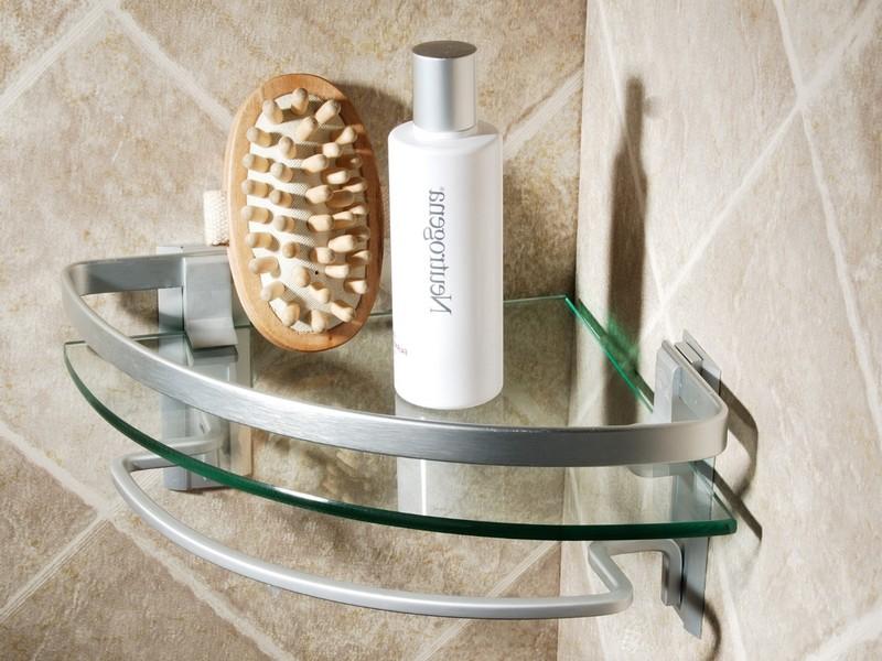 Corner Shelves For Bathroom Wall