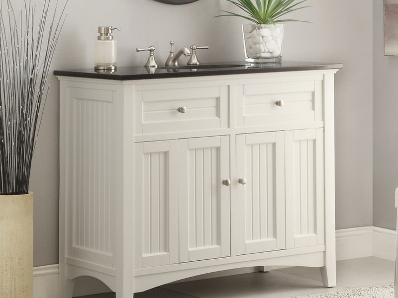Cottage Bathroom Vanity Cabinets