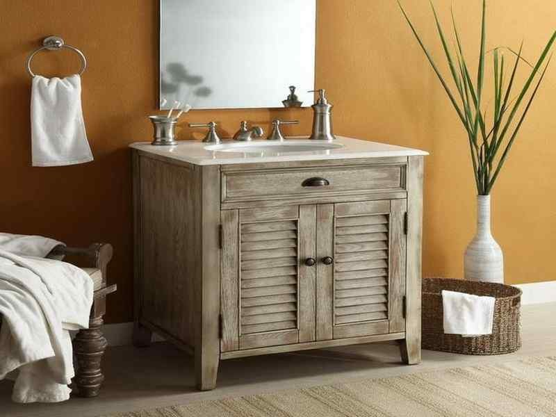 Cottage Style Bathroom Vanities Sink