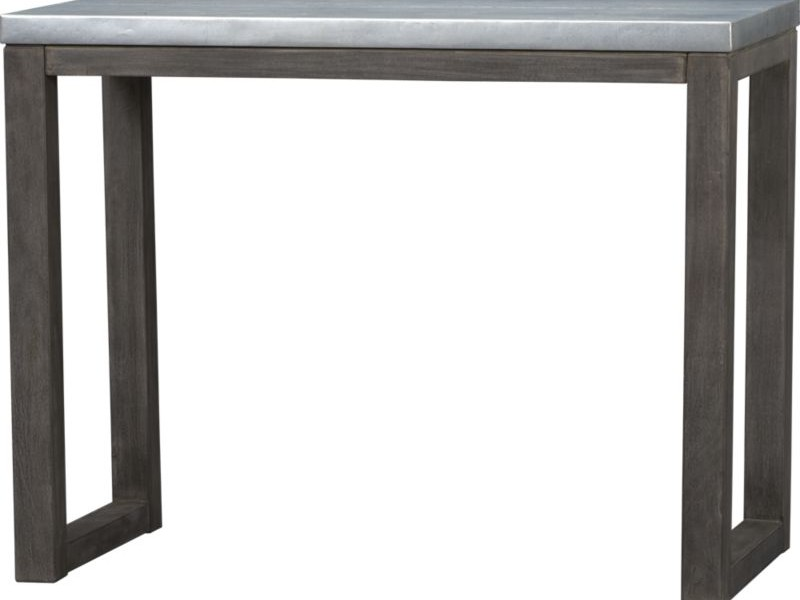 Counter Height Console Table