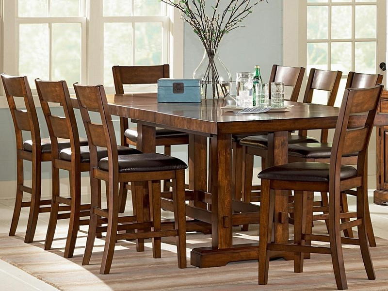 Counter Height Folding Table And Chairs