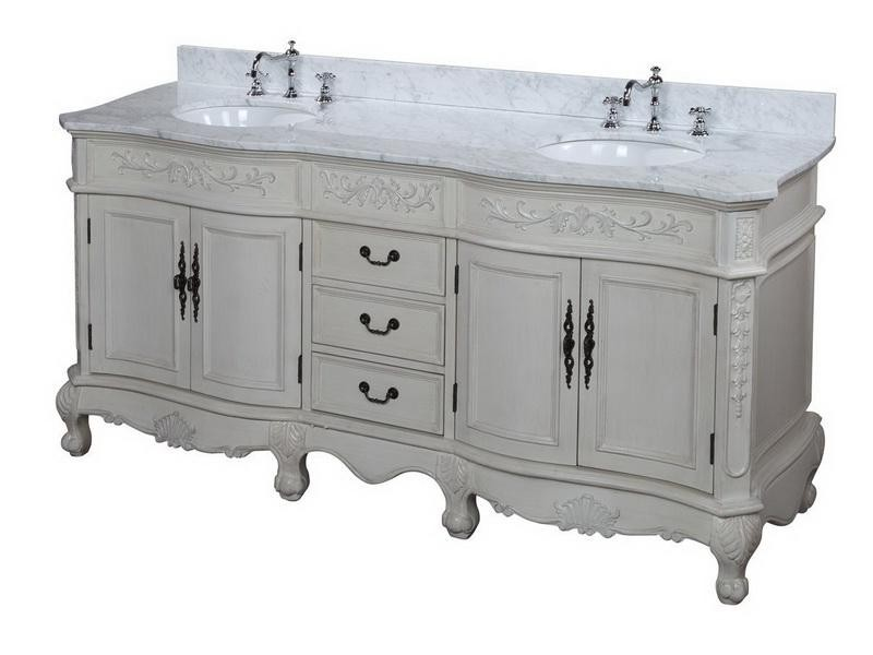 Country French Bathroom Vanity