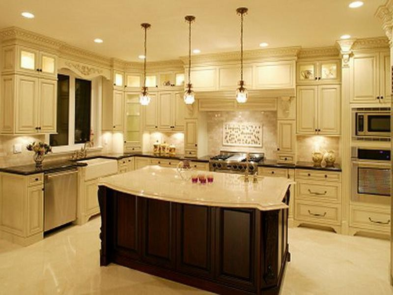 Country Lighting Fixtures Kitchen