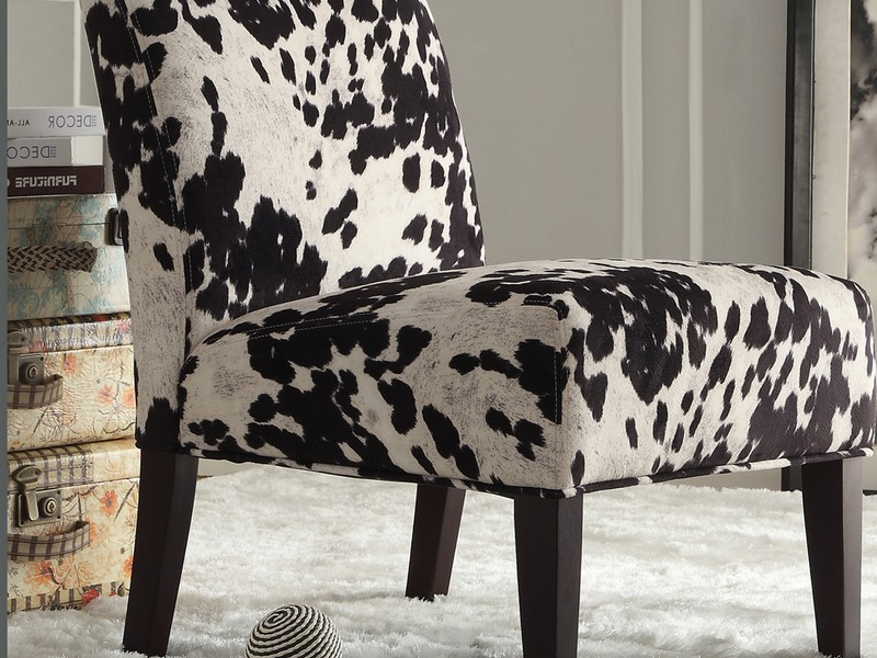 Cow Print Chair Cushions