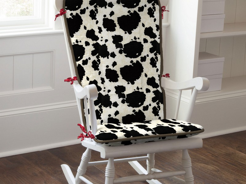 Cow Print Chair Pads